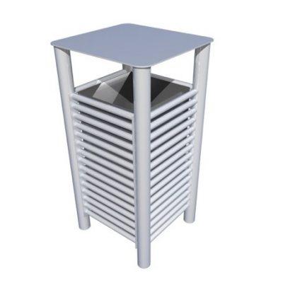 From our baseline street furniture range. New stainless steel litterbin