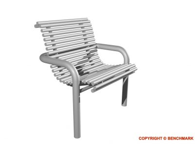 stainless steel single seat