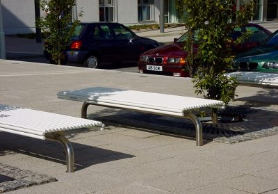From our centerline one off street furniture range