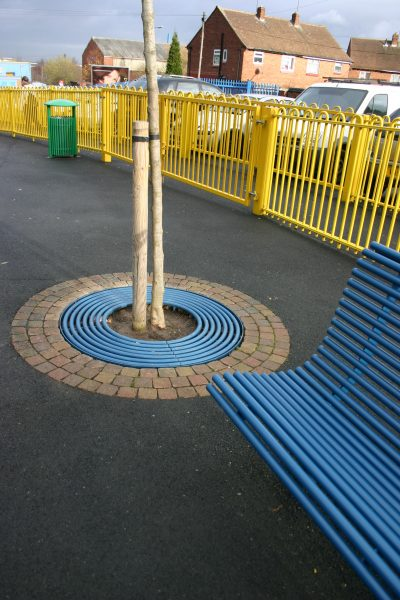 Tree grilles from our centerline street furniture range