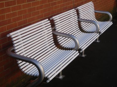 Stainless steel seat