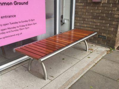 benchmark street furniture - Shoreline SL005 bench