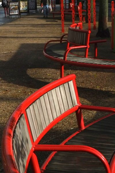 Shoreline Sl007 Exeter bench. From our one off street furniture range.