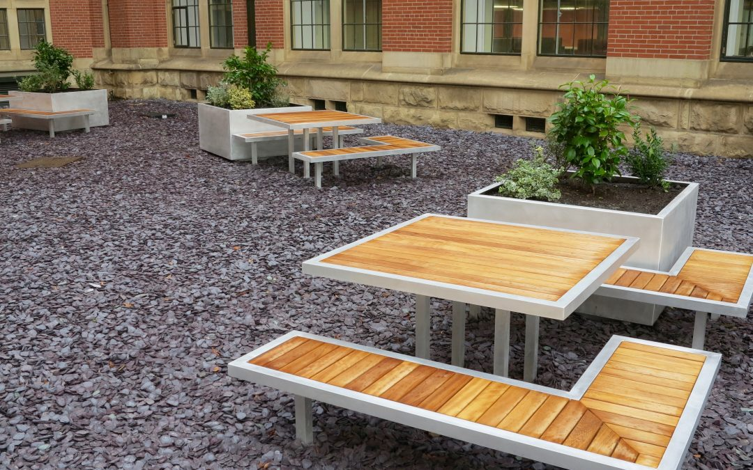New Campus range – Street furniture