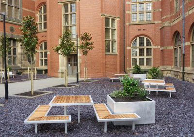 Co-ordinated furniture for the University of Birmingham