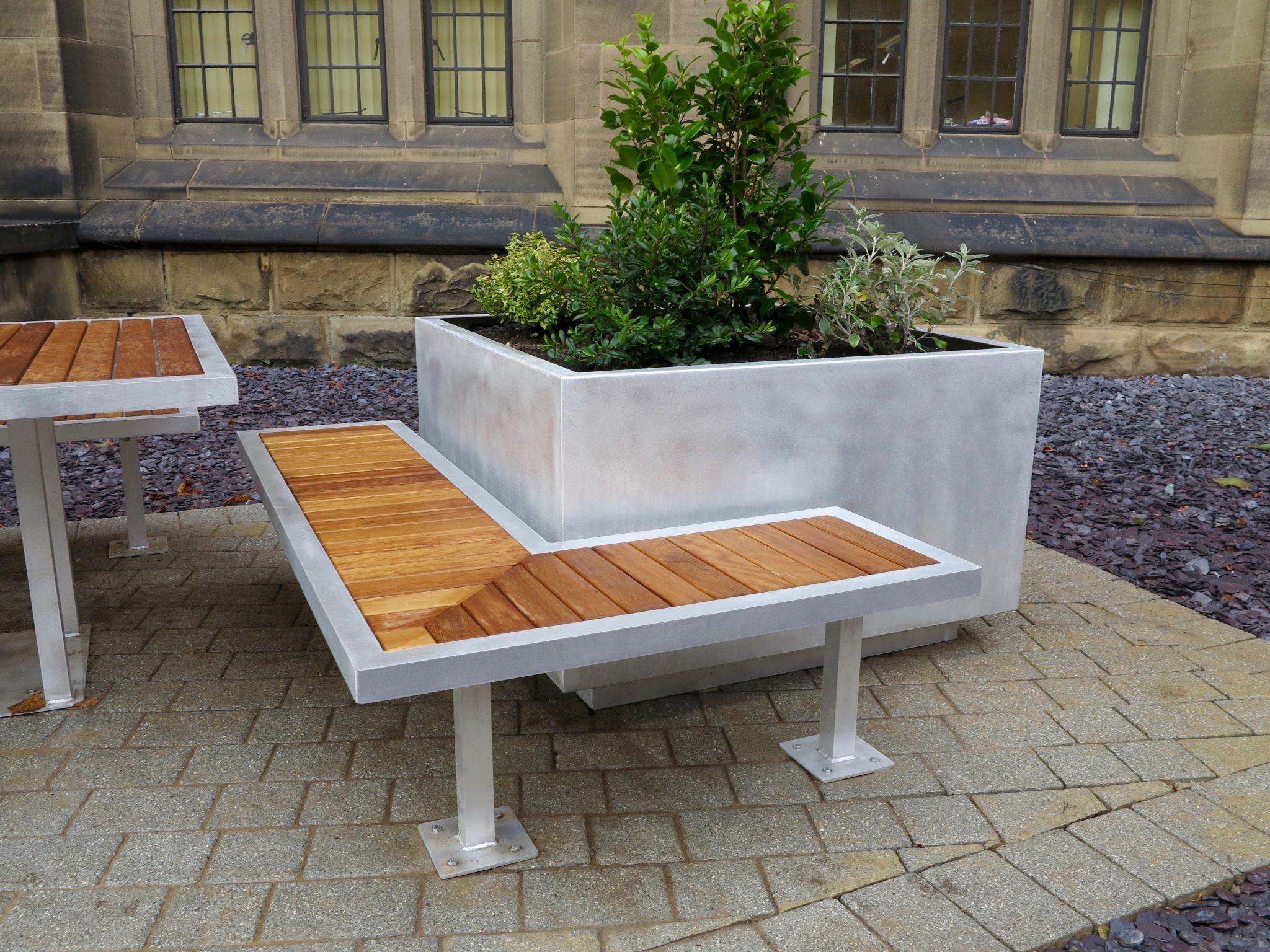 Benchmark Design   Campus Range   Street Furniture   Birmingham Uni   Bench