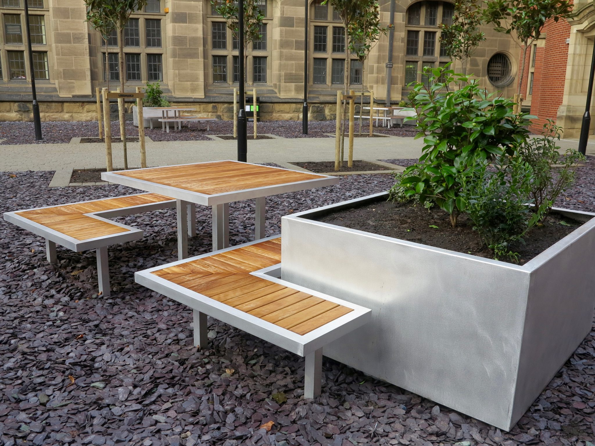 External furniture for the university of birmingham for Furniture companies