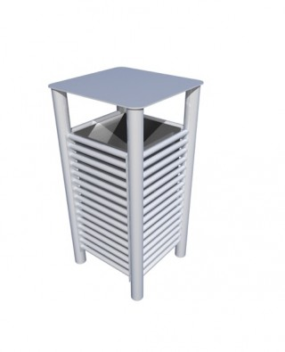 New BL052 Litterbin from our Baseline street furniture range