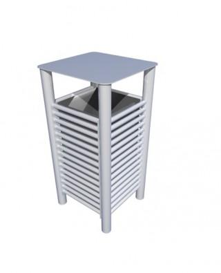 Benchmark design street furniture Baseline BL050 litterbin