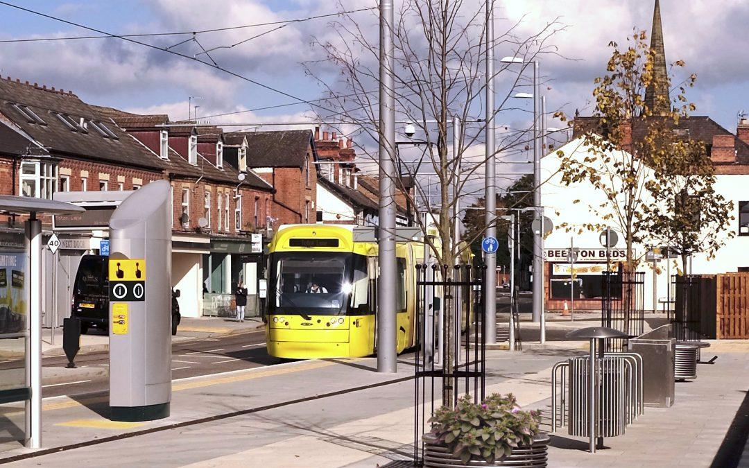 Centerline co-ordinated street furniture – Beeston Tram