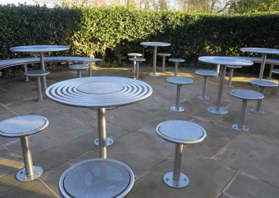 Bespoke street furniture for the University of Nottingham