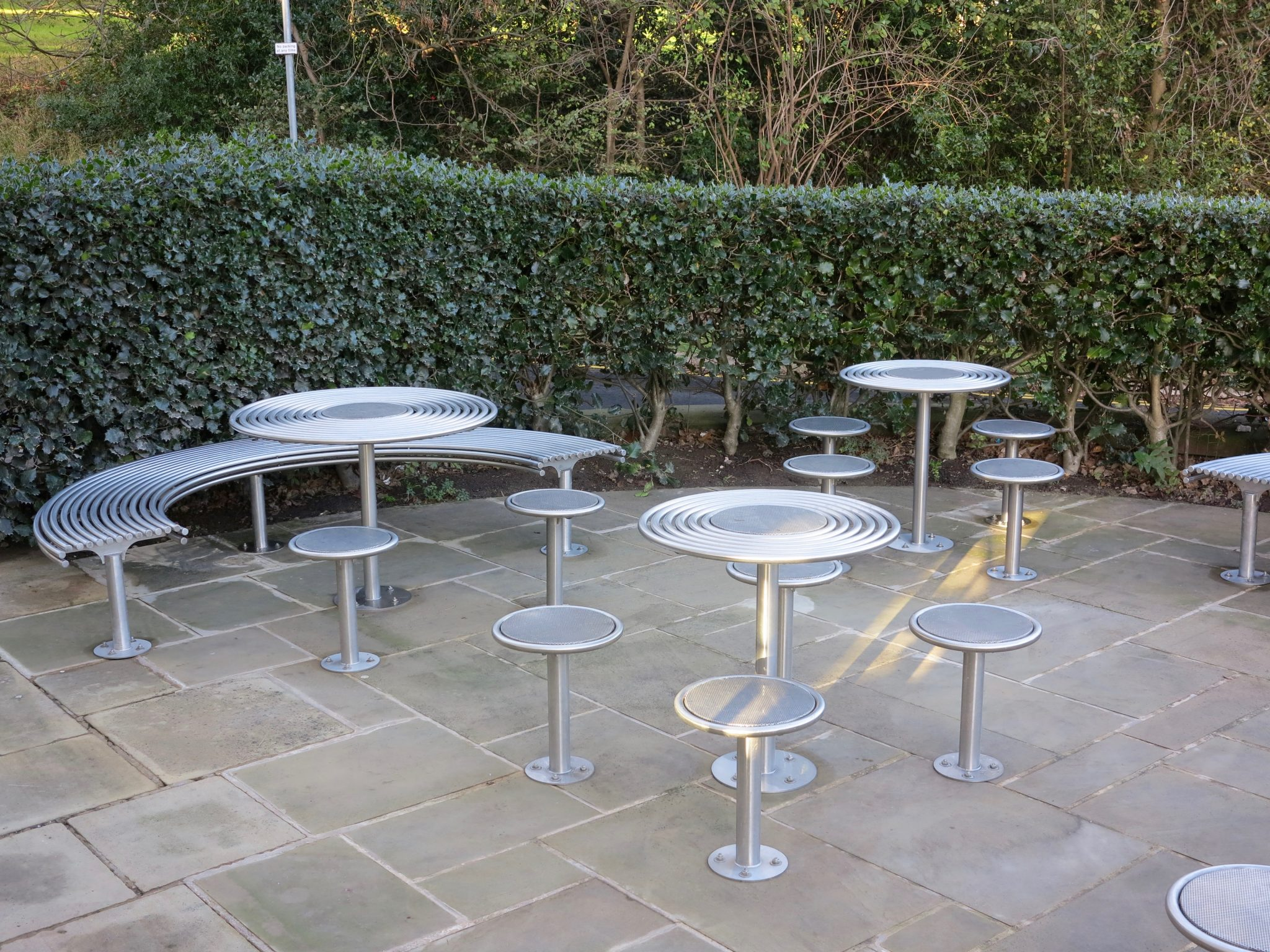 Bespoke street furniture for the University of Nottingham ...
