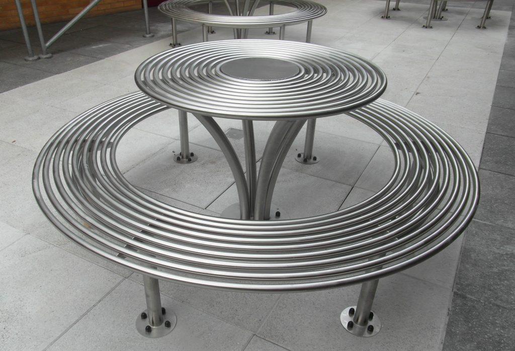 New Baseline Picnic Set Benchmark Street Furniture
