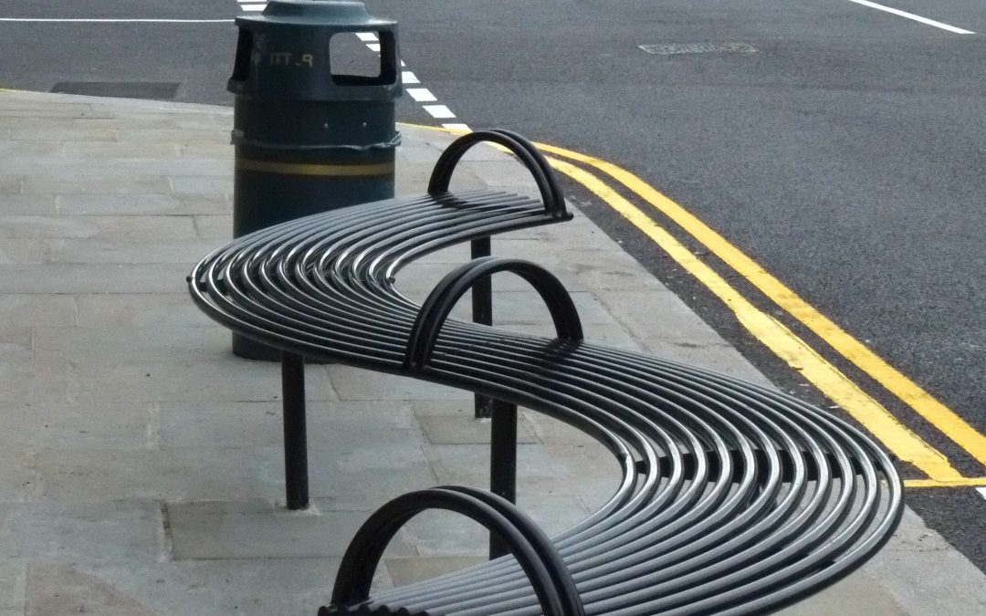 Uckfield town centre improvements – Curved Street furniture