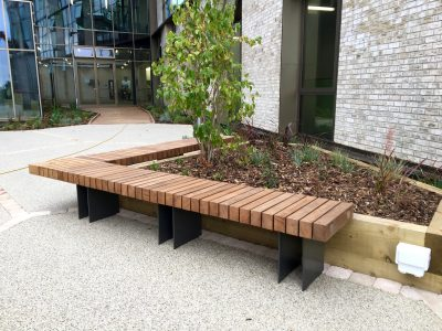 benchmark street furniture, new exeter benches