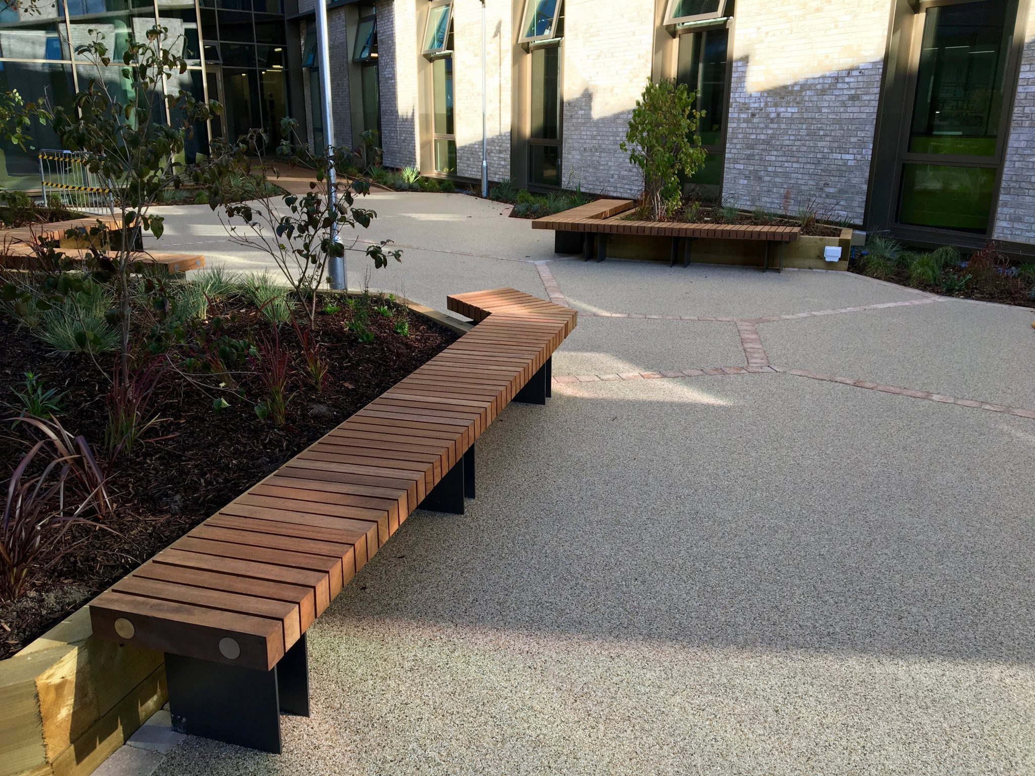 New exeter bench from benchmark design street furniture