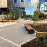 benchmark design street furniture. Our next Exeter range