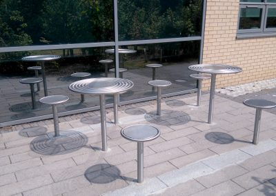 Centerline Circular Picnic sets - from Benchmark street furniture