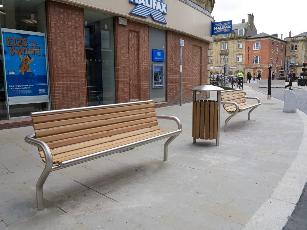 New items in our Shoreline street furniture range
