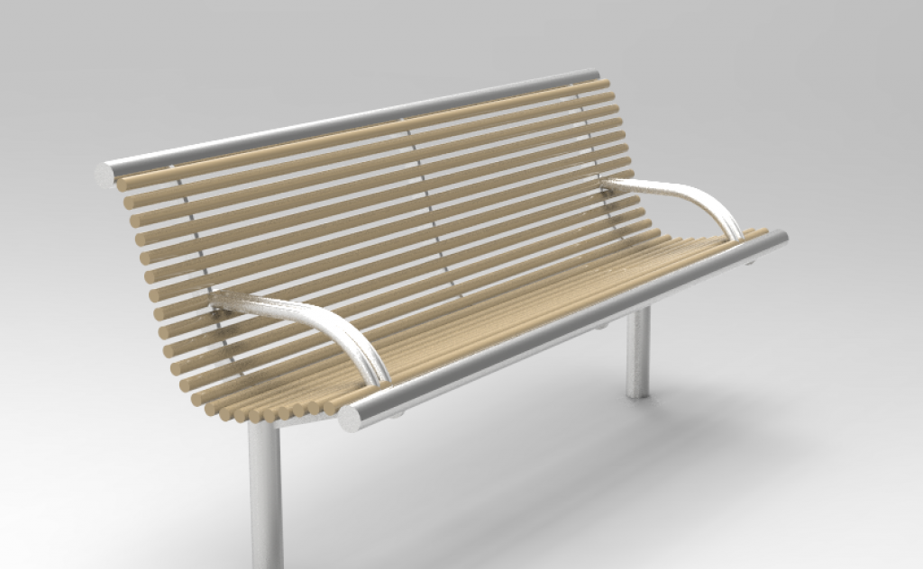CL0035 Centerline seat from benchmark street furniture
