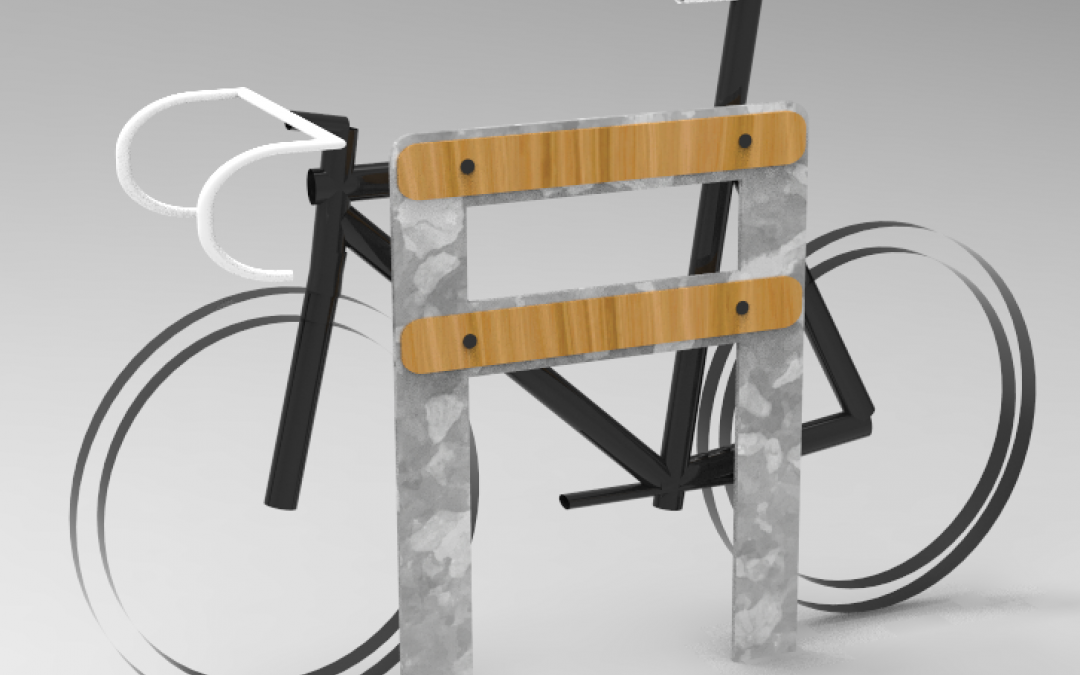 A friendly bike stand