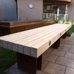 Accoya and aluminium timber bench - from benchmark street furniture