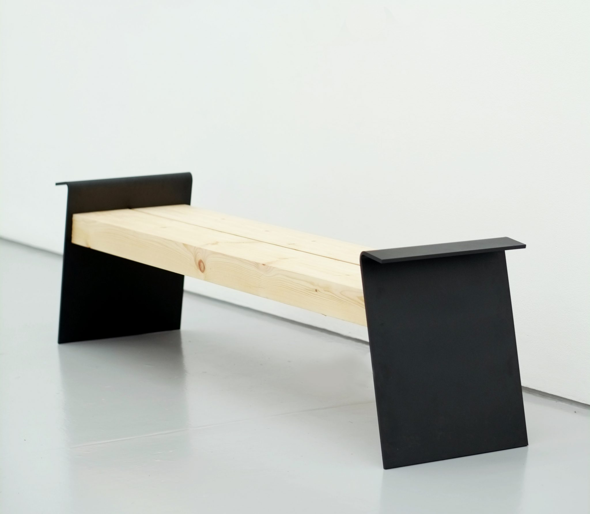 hardwood timber bench from benchmark street furniture