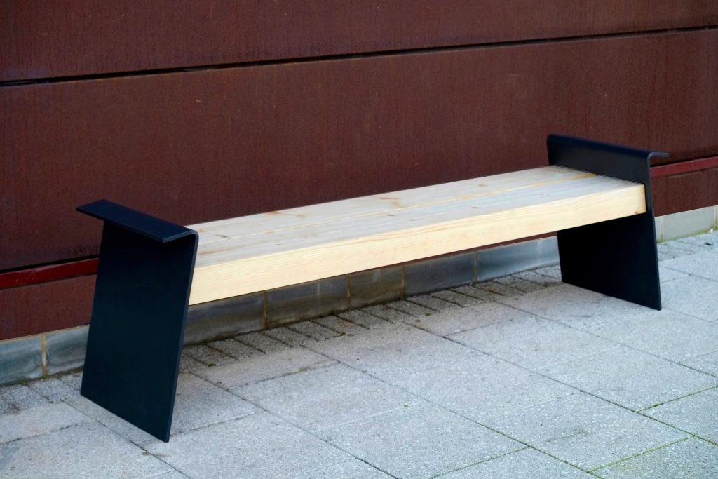 modern street furniture