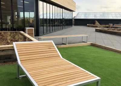 Benchmark street furniture - Campus - Sunlounger