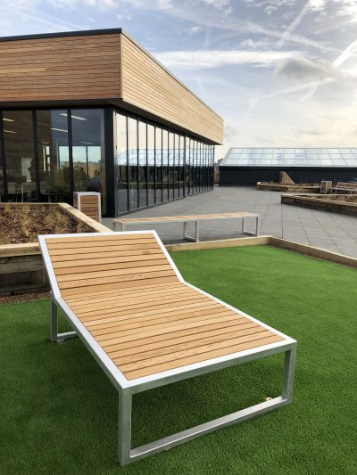 external furniture for Urban roof top