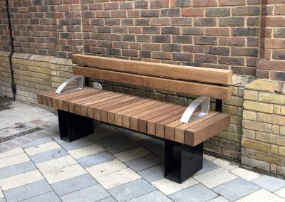 Benchmark street furniture - Exeter EX003 Seat