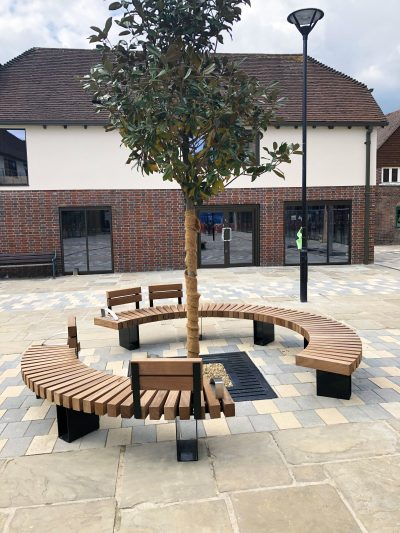Exeter bench from benchmark street furniture