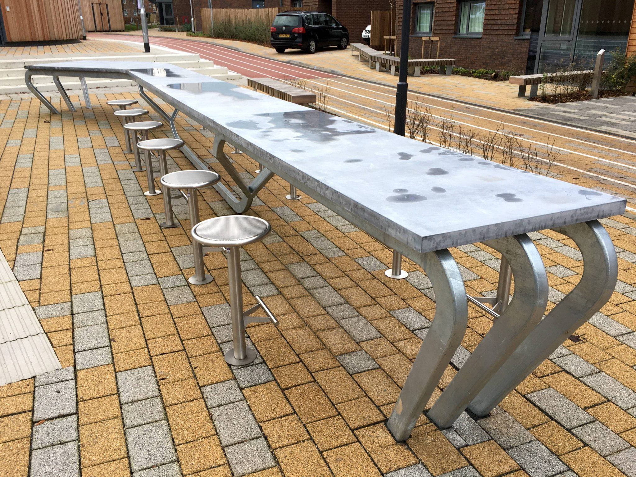 street furniture for Loughborough University
